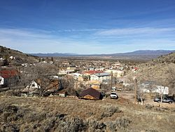Skyline of Pioche, Nevada