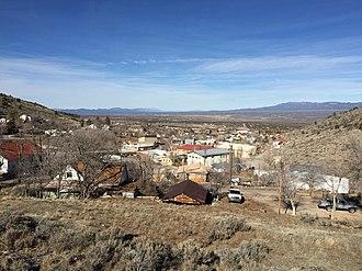 Pioche, Nevada - View of Pioche, looking northeastward