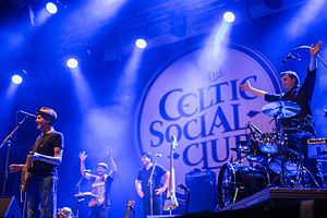 Red Cardell - The Celtic Social Club - Rudolstad 2015