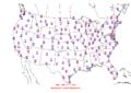2016-04-07 Max-min Temperature Map NOAA.png