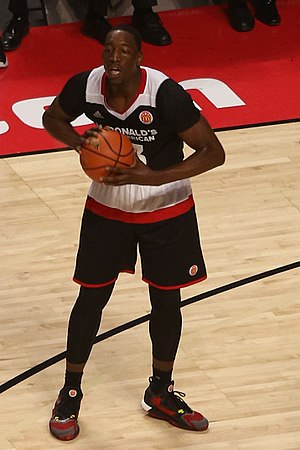Bam Adebayo - Adebayo playing in the 2016 McDonald's All-American Game