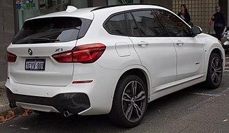 BMW X1 - BMW X1 xDrive25i (Australia)