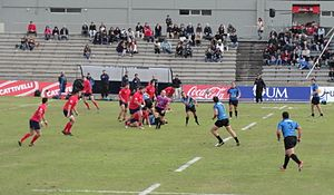 South American Rugby Championship - 2016 Second level of South American Rugby Championship match between Uruguay and Chile