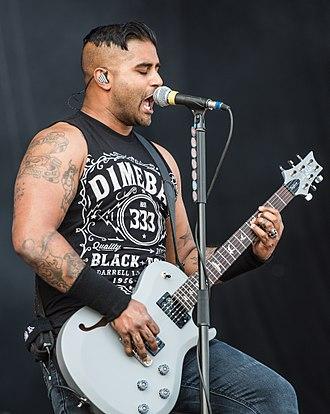 Dave Baksh - Baksh at Rock im Park in 2017