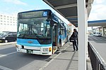 2018-01-13 Azuma-unyu Bus in New Ishigaki Airport 新石垣空港の東運輸バス空港線 DSCF9586.jpg