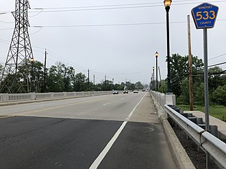 Manville, New Jersey - CR 533 in Manville