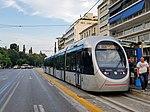 2018-07-24 AnsaldoBreda tram in Athens.jpg
