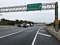 2018-10-26 14 10 58 View south along Virginia State Route 286 (Fairfax County Parkway) at the exit for Interstate 95 NORTH (Washington) in Springfield, Fairfax County, Virginia.jpg