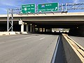 2018-10-31 14 26 37 View east along U.S. Route 50 (Arlington Boulevard) at the exit for Interstate 495 NORTH (Tysons Corner) in Woodburn, Fairfax County, Virginia.jpg