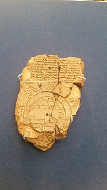 Babylonian Map Of The World Wikipedia