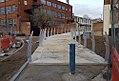 2018 Thames Path, missing link near Thames Barrier 2.jpg