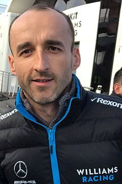 2019 Formula One tests Barcelona, Kubica (32309897777).jpg
