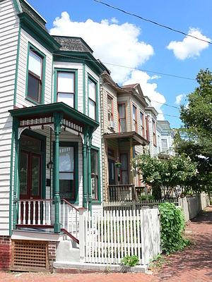 Union Hill, Richmond, Virginia - Image: 2200 Block E Marshall Street, Union Hill, Richmond, VA