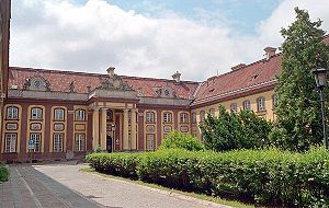 Branicki Palace, Warsaw - Branicki Palace - courtyard.