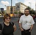 2 Wikipedianer in Berlin.jpg