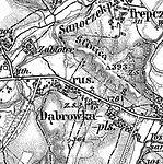 3. Militärische Aufnahme (-1887) Glinice, Sanok.JPG