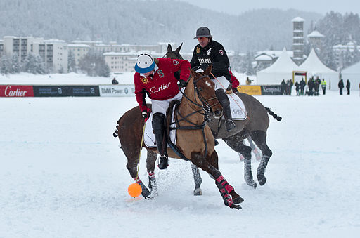 30th St. Moritz Polo World Cup on Snow - 20140202 - Cartier vs Ralph Lauren 11