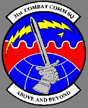 31st Combat Communications Squadron - 31st Combat Communications Squadronemblem