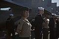 31st MEU Marines man the rails aboard the USS Bonhomme Richard (LHD-6) 150625-M-CX588-142.jpg