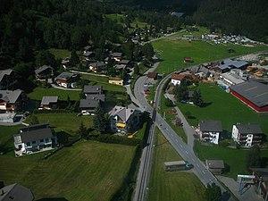 Fiesch - Fiesch village