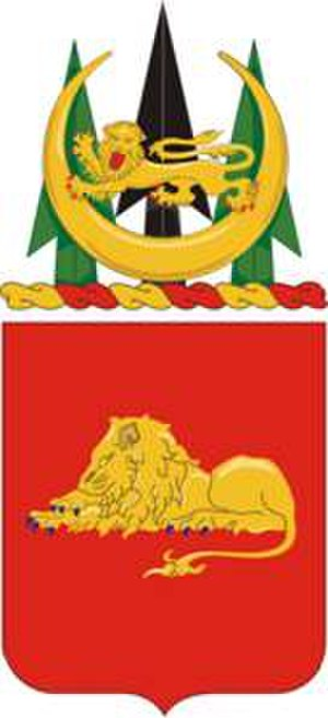 33rd Field Artillery Regiment - Coat of arms