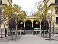 343 Grup escolar Ramon Llull, façana c. Consell de Cent.JPG
