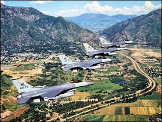 388th Operations Group - 388th OG F-16s