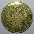 4-ducat piece, Francis Joseph I of Austria, 1888, 40th anniversary of the Emperor's accession MET SF09 9 7 img2.jpg