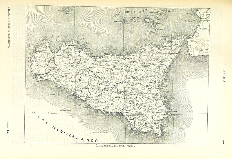 Cartina Geografica Italia Jpg.File 421 Of L Italia Geografica Illustrata Etc