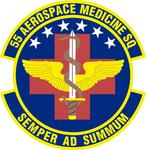 55 Aerospace Medicine Sq emblem.png