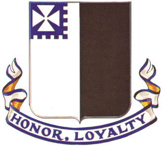 56th Infantry Regiment (United States) - Crest of the 56th Infantry Regiment (1917-1943)