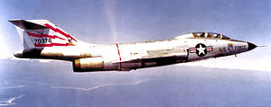 60th Fighter-Interceptor Squadron McDonnell F-101B 57-0376 1960.jpg