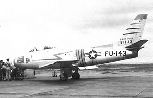 60th Fighter Squadron - North American F-86A-5-NA Sabre, AF Ser. No. 49-1143, Westover Air Force Base, Massachusetts, circa 1951