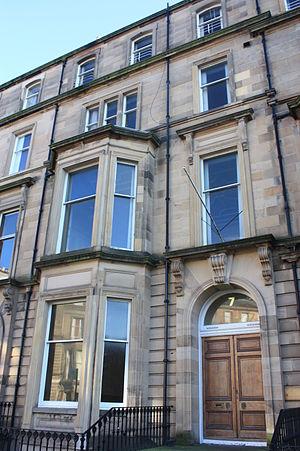 Charles Pearson, Lord Pearson - Pearson's substantial Edinburgh townhouse at 7 Drumsheugh Gardens