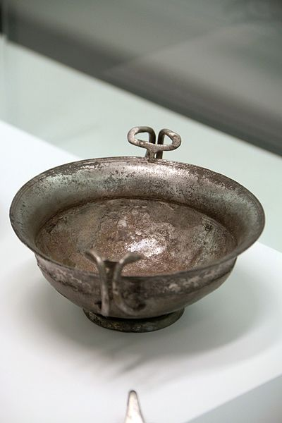 File:9362 - Silverware from the hoard of Palmi, 100-70 BC - Reggio Calabria archaeological museum - Photo by Giovanni Dall'Orto, October 27 2016.jpg