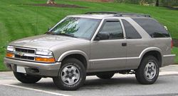 1998-2005 Chevrolet S-10 Blazer 2-door
