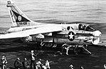 A-7E Corsair II of VA-105 on USS Saratoga (CV-60) in 1976.jpg