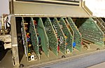 ASQ-153 Pave Spike system, view 3 - National Electronics Museum - DSC00522.JPG