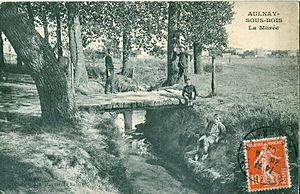 Aulnay-sous-Bois - Aulnay once had a stream: the Morée. It has long been piped into a departmental sewer