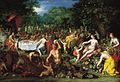 A Bacchanal by Jan Brueghel the Elder and Hendrik van Balen I, ca. 1608 - 1616. Speed Art Museum.jpg