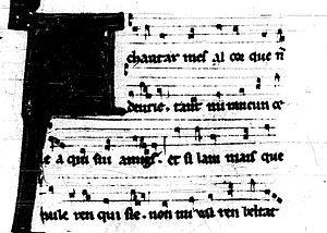 Trobairitz - Image: A chantar pg. 1crop