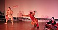 A performance combining elements of traditional Indian and Korean dance at the Asian Culture Complex in Gwangju, South Korea.jpg