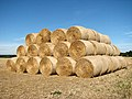 A stack of straw bales - geograph.org.uk - 1501535.jpg