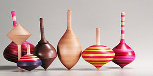 Top - An assortment of spinning tops