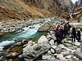 A view of the river in Kalam Valley near Usho forest 2.jpg