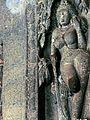 A wall sculpture, Ajanta Caves.jpg
