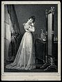 A woman at her toilet. Lithograph by A.L. Lemercier after N. Wellcome V0019916.jpg