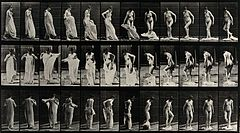 A woman undressing. Photogravure after Eadweard Muybridge, 1 Wellcome V0048710.jpg