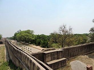 Aam Khas Bagh - Image: Aam khas Bag, Sirhind, Fatehgarh Sahib district, Punjab, India , view from hight