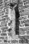 aansluiting gewelfribben in romaans venster west-gevel - norg - 20170015 - rce
